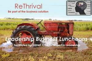 ReThrival ~ Monthly Leadership Business Luncheons: Lunch and Learn @ Sononma County Healing Academy | Sebastopol | California | United States